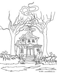 Small Picture Scary haunted mansion coloring pages Hellokidscom