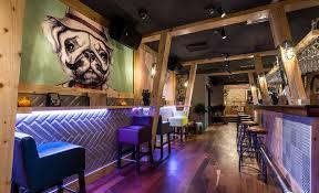 Modern Bar Designs For Restaurants Contemporary The Circus