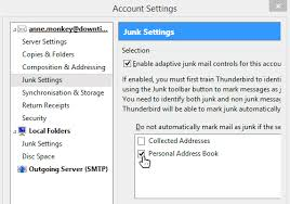 How To Whitelist And Email Address In Mozilla Thunderbird