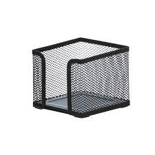 j burrows metal mesh desk accessory set 4 piece black