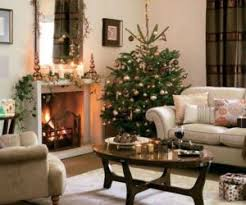Christmas trees decoration in dining room 1