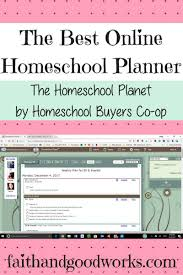 Best Online Homeschool Planner Homeschool Planet Review Planning