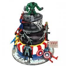 1762 Avengers Birthday Cake Abc Cake Shop Bakery