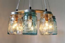 lighting exciting ball canning jar light fixture chandelier to make diy fixtures mason canning jar