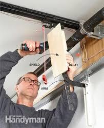 secure garage door openerGarage Security Tips  Family Handyman