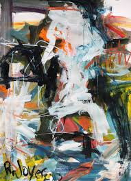 saatchi art artist robert joyner painting abstract cow art art