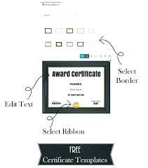 Award Certificate Template Free Employee Recognition Certificates Free Printable Simple Certificate