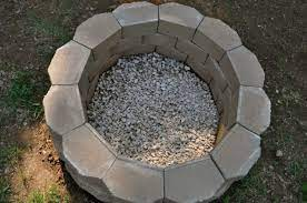 gorgeous diy project backyard fire pit