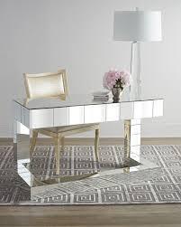 Regina Andrew Design Quinlan Mirrored Writing Desk