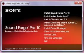 Resultado de imagem para Sound Forge Pro 10