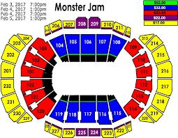 Monster Jam Sprint Center