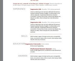 Collection Of Solutions Good Resume Examples For College Students