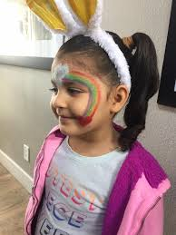 photo of poppy face painting san jose ca united states terra san