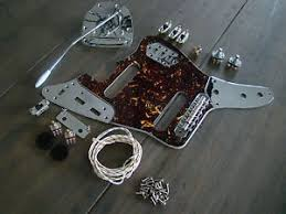 jaguar guitar full replacement hardware pickguard wiring kit fits image is loading jaguar guitar full replacement hardware pickguard wiring kit