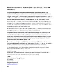 Simple Press Release Template Free Press Release Template Eric Brown Bodyworkbiz Blog