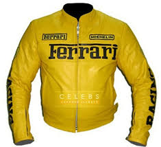 100% quality driven motorbike leather jackets. Ferrari Leather Jacket For Sale