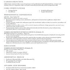 Writing A Resume Examples Best Objective Resume Examples Job Objectives Resume Example Of Objective