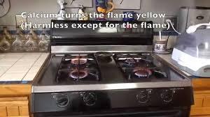 gas stove flame. Yellow Stove Flame Gas E