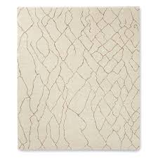 mountain fog hand knotted rug