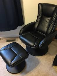 black leather massage chair. black leather massage chair for beautiful massaging recliner and ottoman with wrapped a