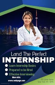 education poster templates internship vacancy poster flyer template educational poster