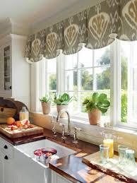 work ideas kitchen plants potted curtain. Practical window decoration