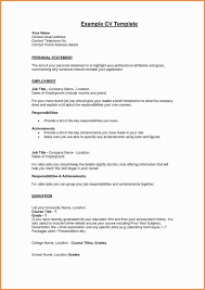 Profile Format For Personal Business Template Lovely In Free Resume