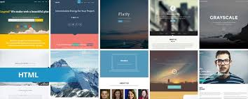 free html5 web template 37 free one page html5 website templates templatemag