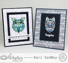 Watercolored Owl and Wolf | Sunshine in my pocket
