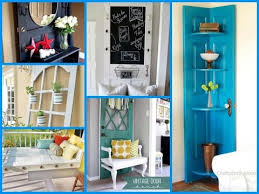 30 smart ways to repurpose an old door diy room decor using recycled items