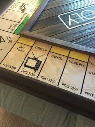 Wooden Monopoly Board Game This Solid Wood Monopoly Board Is Hiding An Incredible Secret 57