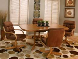 dinette sets chairs with casters. swivel-tilt-dining-chairs-on-casters /swivel_dining_dinette_chairs_on_casters_and_table_set_ac.jpg dinette sets chairs with casters d