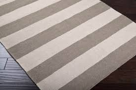 Striped Kitchen Rug Ideas To Enhance Your Kitchen Look  Gray And Ivory  Colored Kitchen Striped