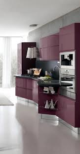 majestic purple and grey kitchen 1