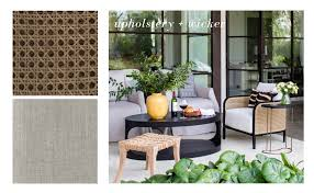 how to mix and match outdoor furniture