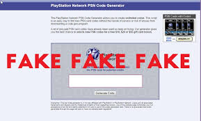 free psn codes fake generators