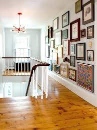 how to hang curtains on concrete wall without drilling the eclectic look ways to hang pictures