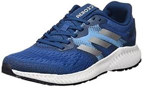 adidas shoes blue and white. adidas men\u0027s aerobounce m, blue/white, shoes blue and white