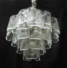 ultimate large mid century italian modern camer glass chandelier murano with additional modern glass chandelier