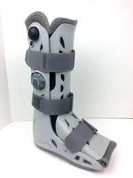 Aircast Airselect Elite Pneumatic Walking Boot Cast Walker Brace Size Medium Ebay