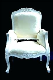 White Bedroom Chair French S – Onhand