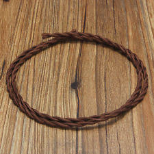 Fabric lighting cord Pendant Item 123510m Vintage 2core Twist Braided Fabric Cable Wire Electric Lighting Cord 123510m Vintage 2core Twist Braided Fabric Cable Wire Electric Ebay Brown Twisted Silk Braided Vintage Fabric Coloured Lighting Cable