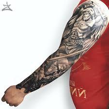 татуировка архангела