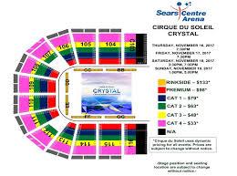 Circus De Soleil Seating Chart Events Cirque Du Soleil Crystal Sears Centre