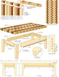 coffee table woodworking plans 11