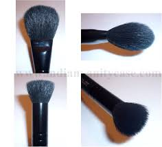 the smaller flat top brush is perfect for contouring blending under the cheekbones nose chin hairline i use it to apply blend concealer powder