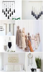 20 easy diy yarn art wall hanging ideas