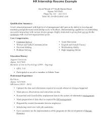 Example Of Resumes For Internships Intern Resume Example Resume Internship Resume Example Sample For