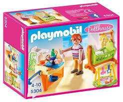 Playmobil 9268 Badezimmer 5304 Babyzimmer Mit Wiege Amazonde