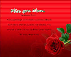 messages for mother who d